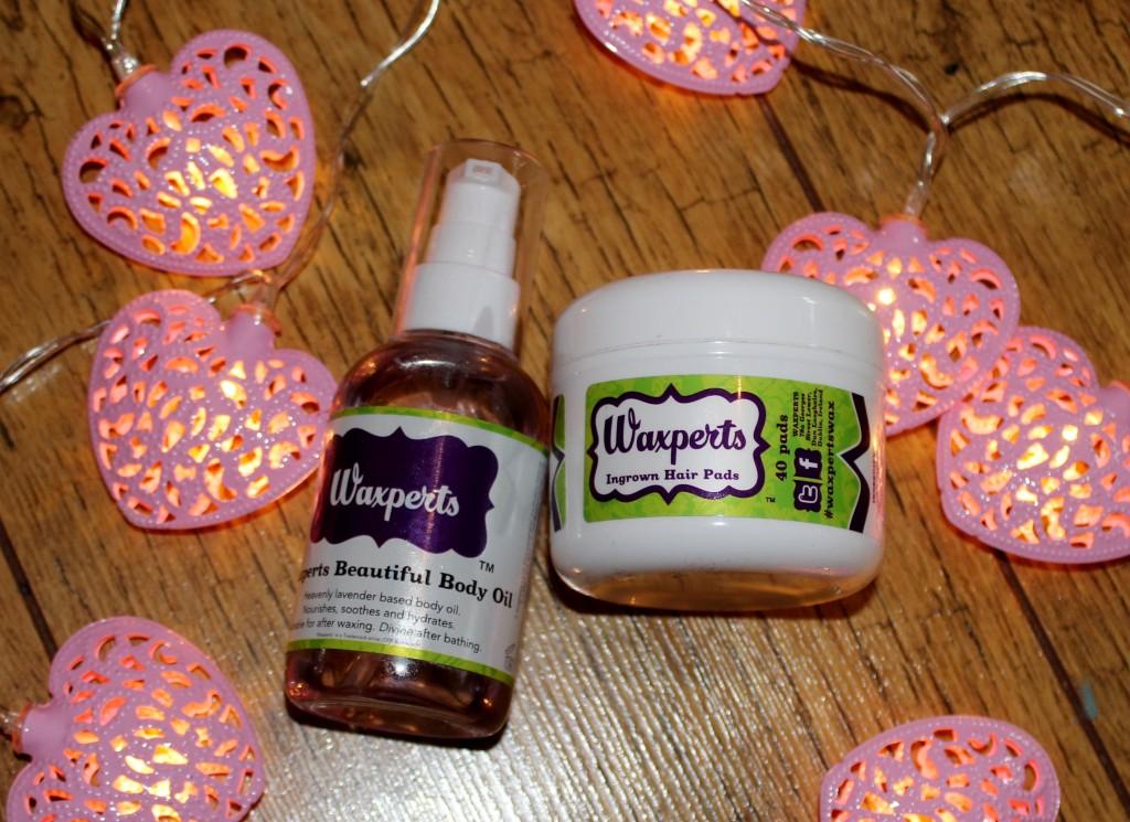 Waxperts Beautiful Body Oil Wonder Pads