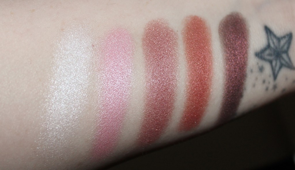 flormar color palette eyeshadows