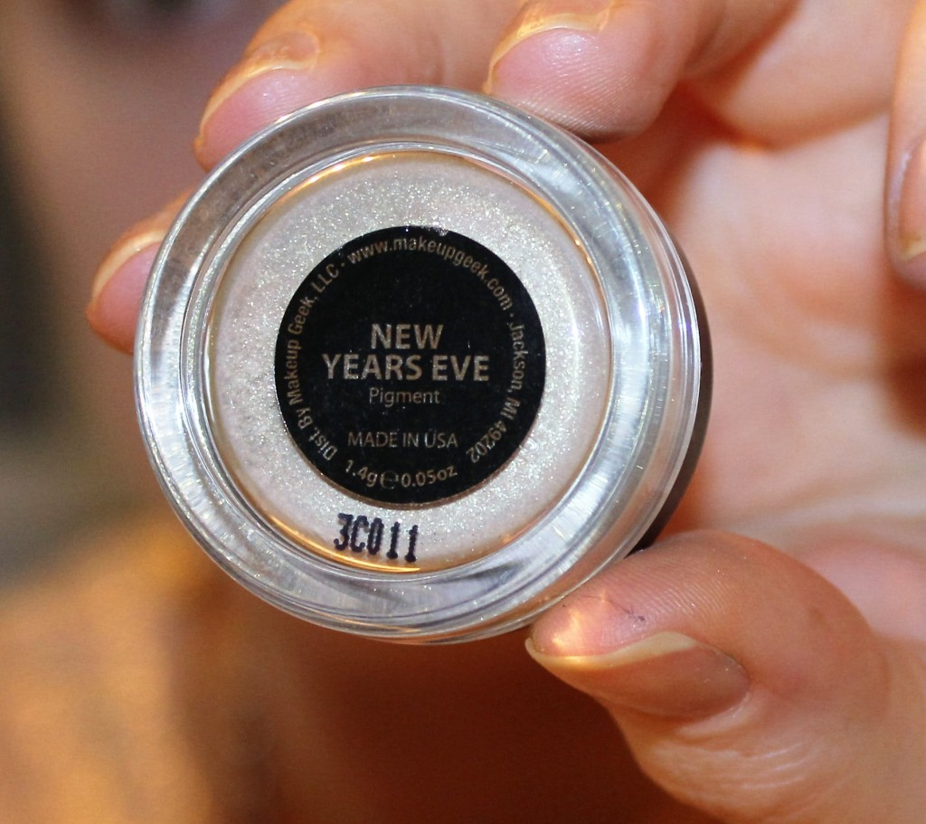 makeup geek pigment new years eve