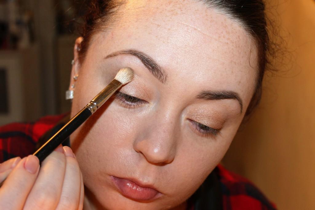 sick day makeup look