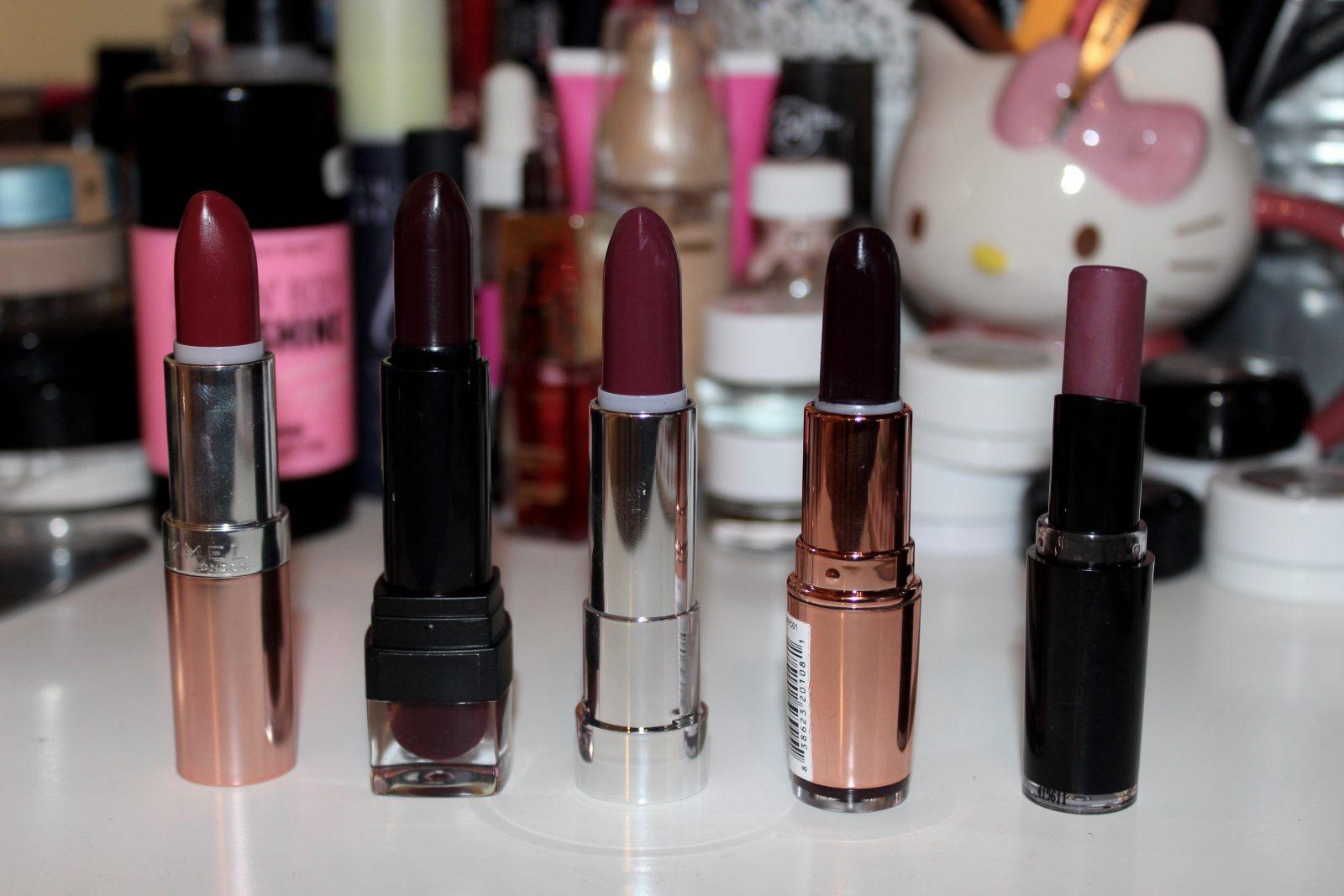 Budget Autumn Lipstick