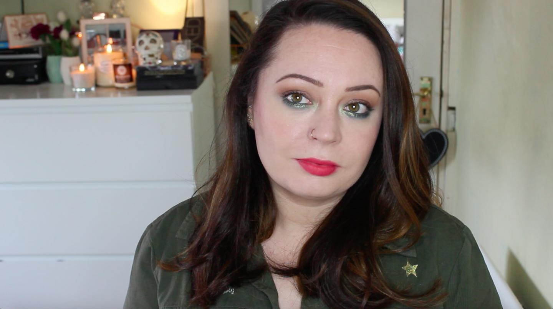 St Patrick's Day Makeup