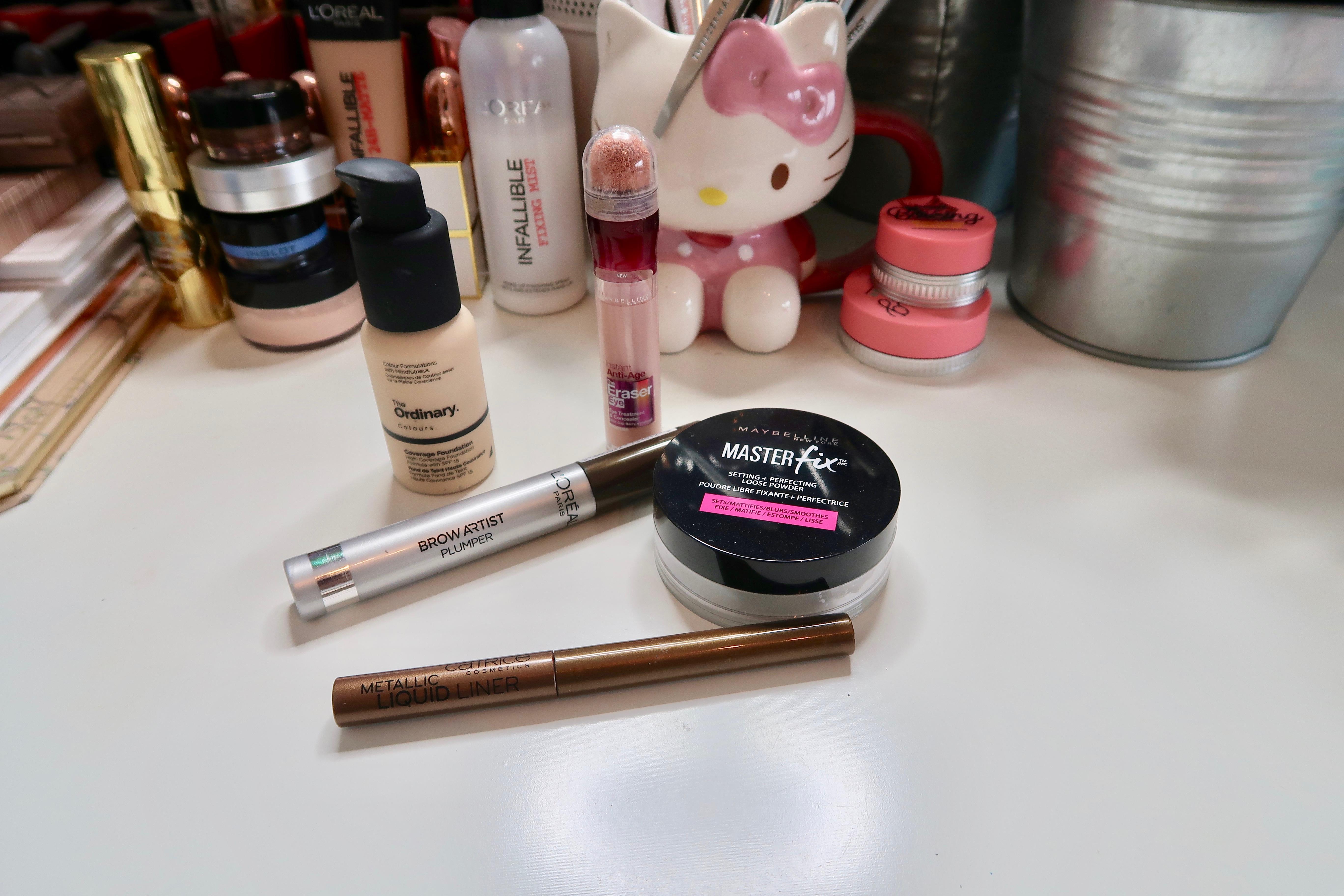 Current Budget Friendly Makeup Favourites