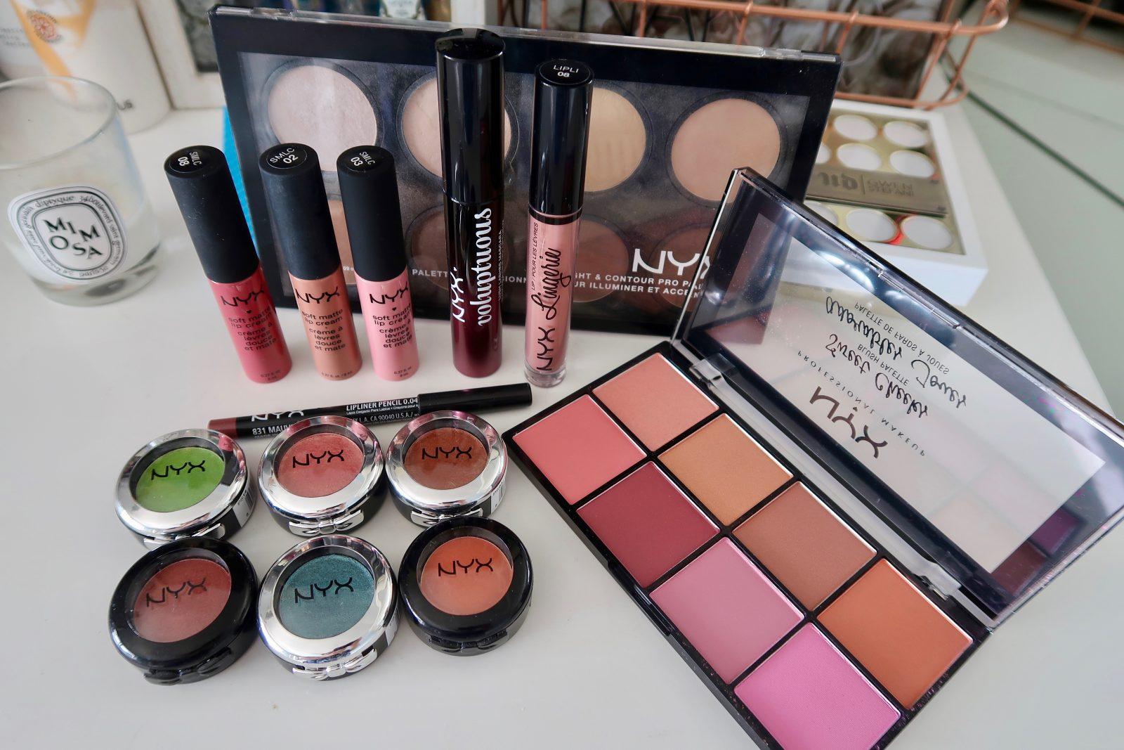 Nyx Cosmetics Eye Makeup Look