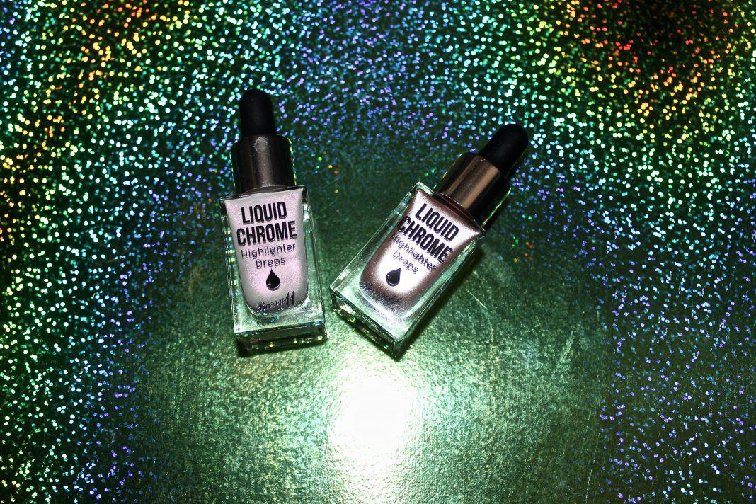 Barry M Liquid Chrome Highlighters