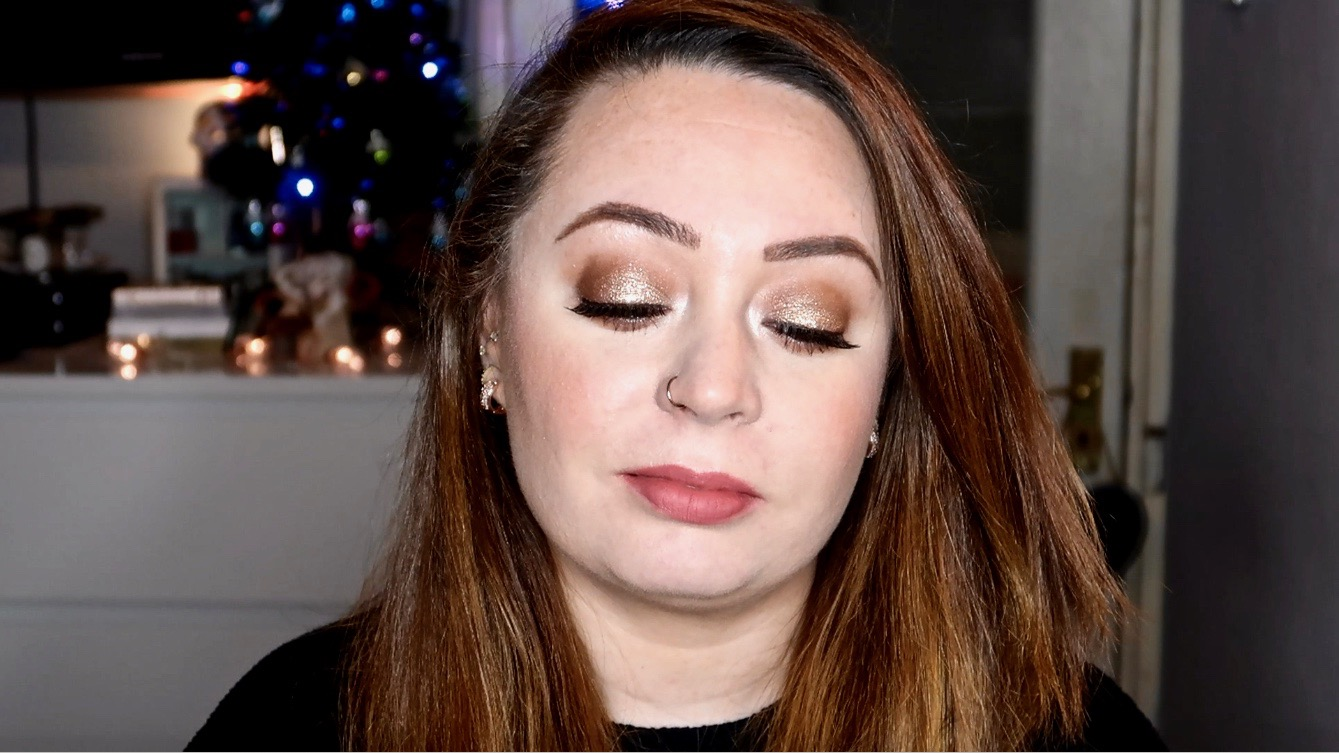 Sparkle Makeup Look