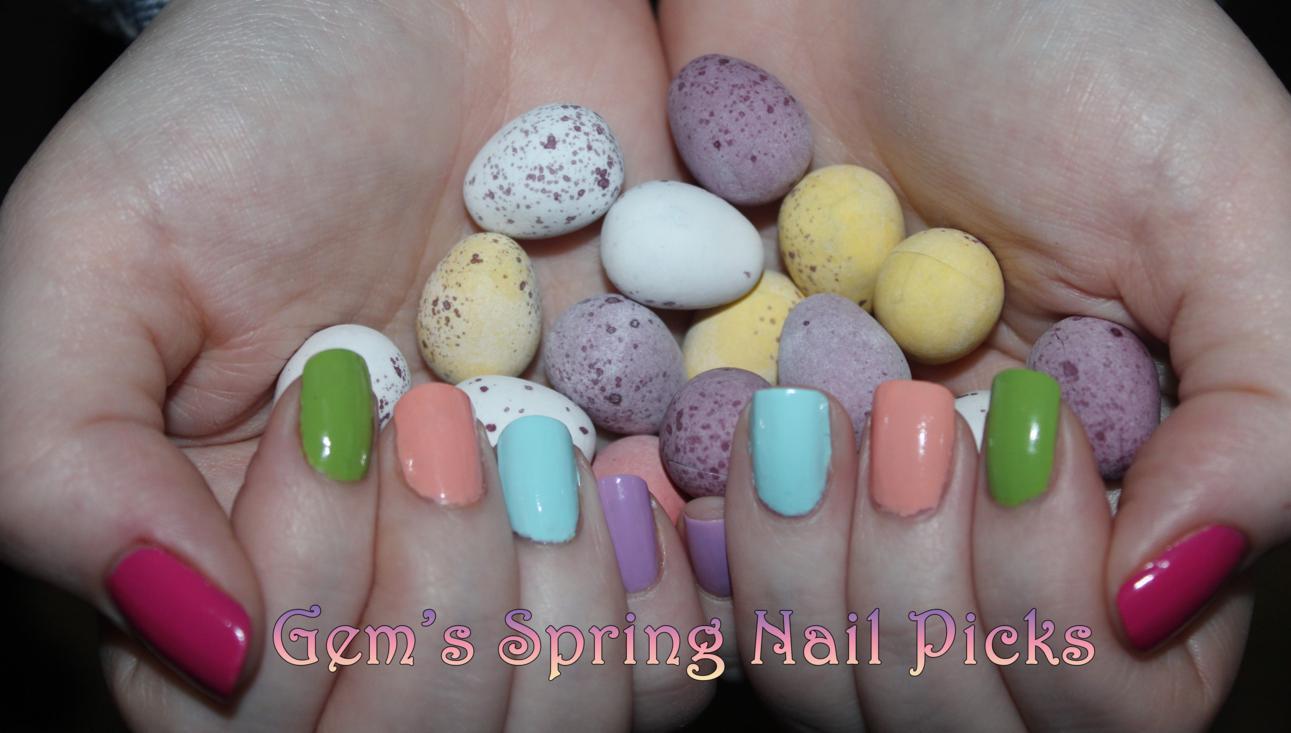 Gem's Spring Nails 2014