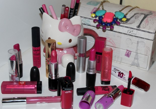 Chatterbox Pink Lipsticks