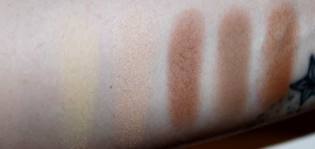 Contour Kit Swatches