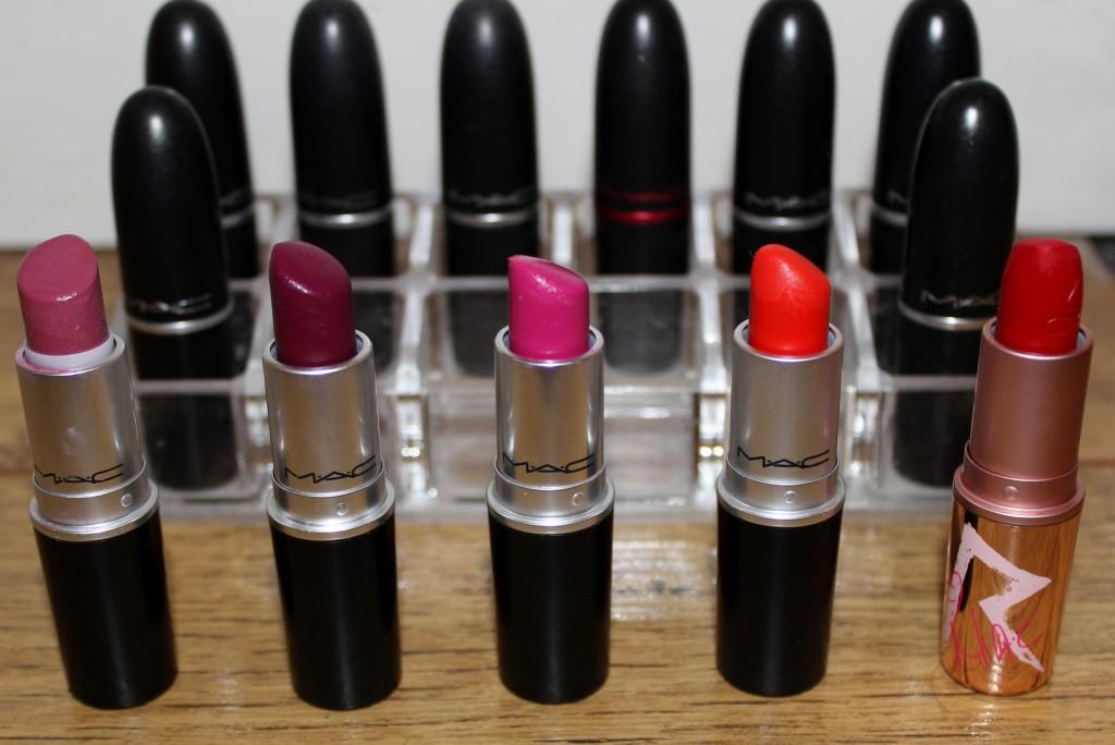 Beautynook Top 5 Mac Lipsticks
