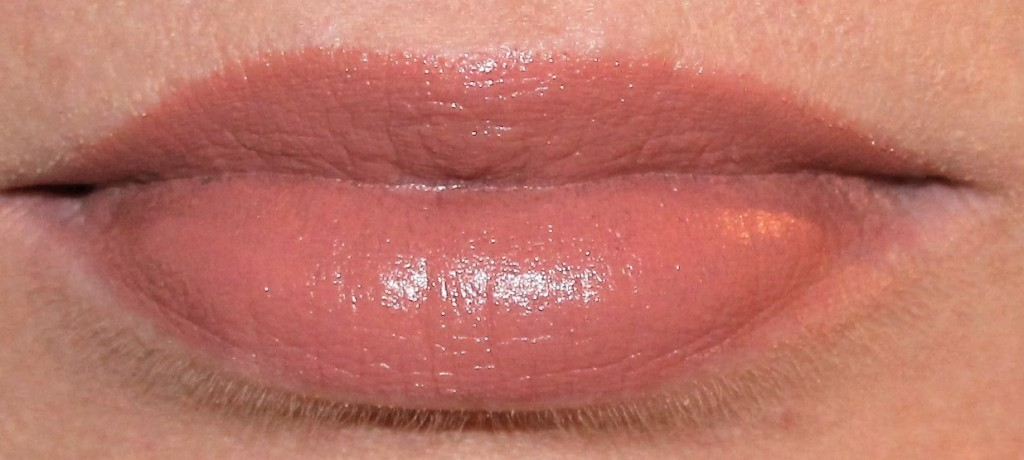 makeup revolution rose gold lipstick swatch