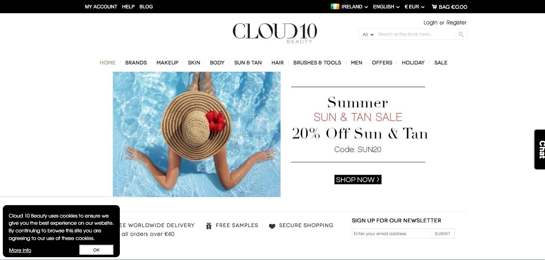 cloud10beauty beauty shopping
