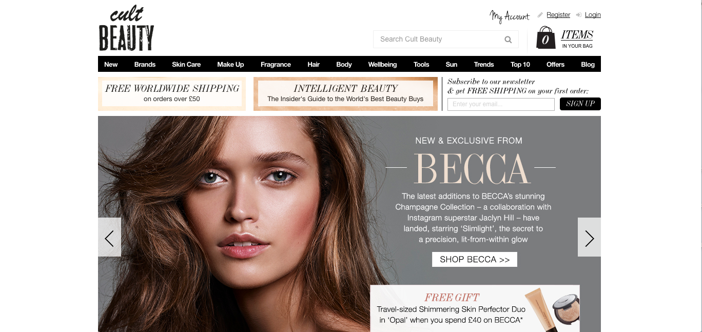 beauty shopping cult beauty