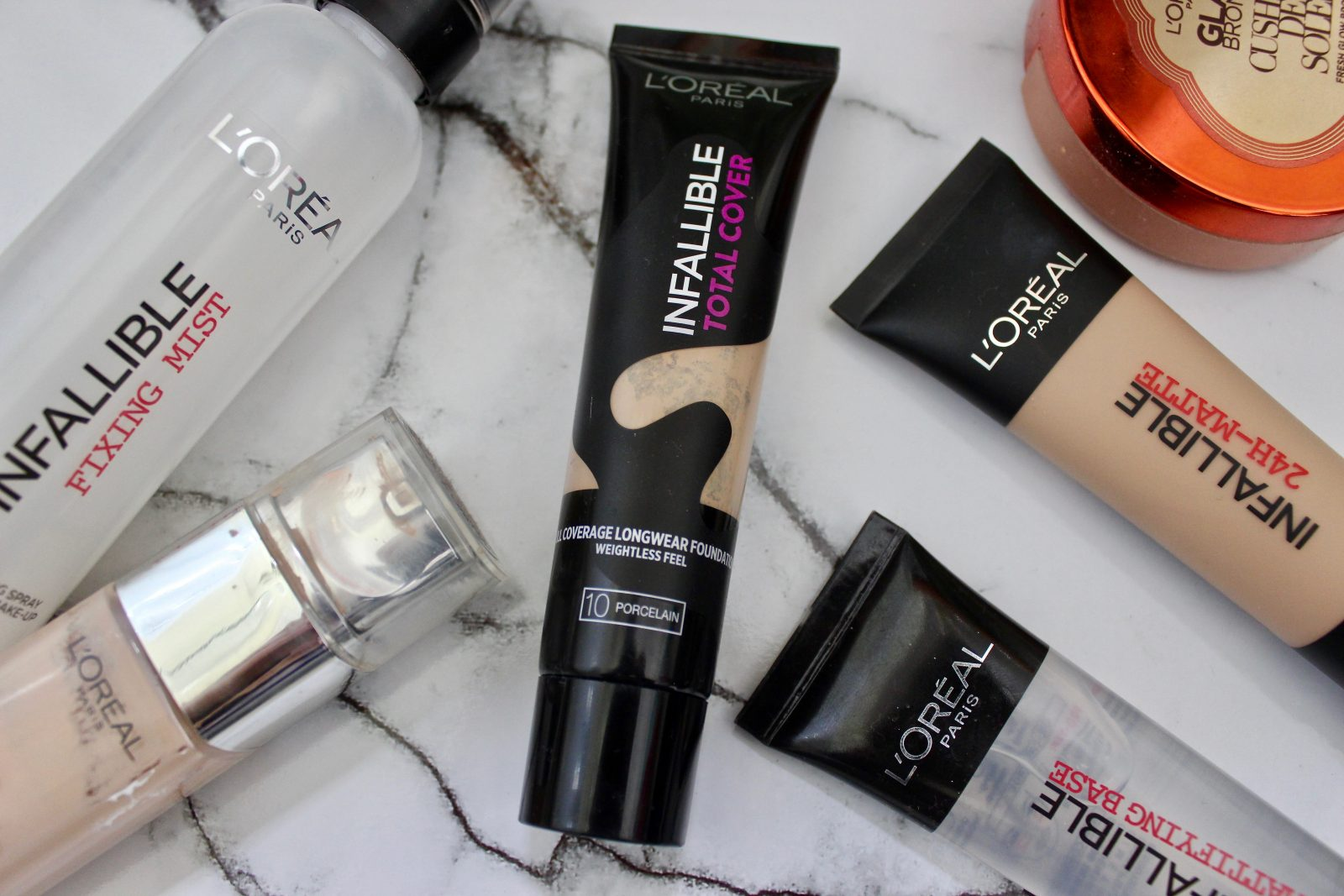 L Oreal Infallible Total Cover Foundation Irish Beauty Blog Beautynook