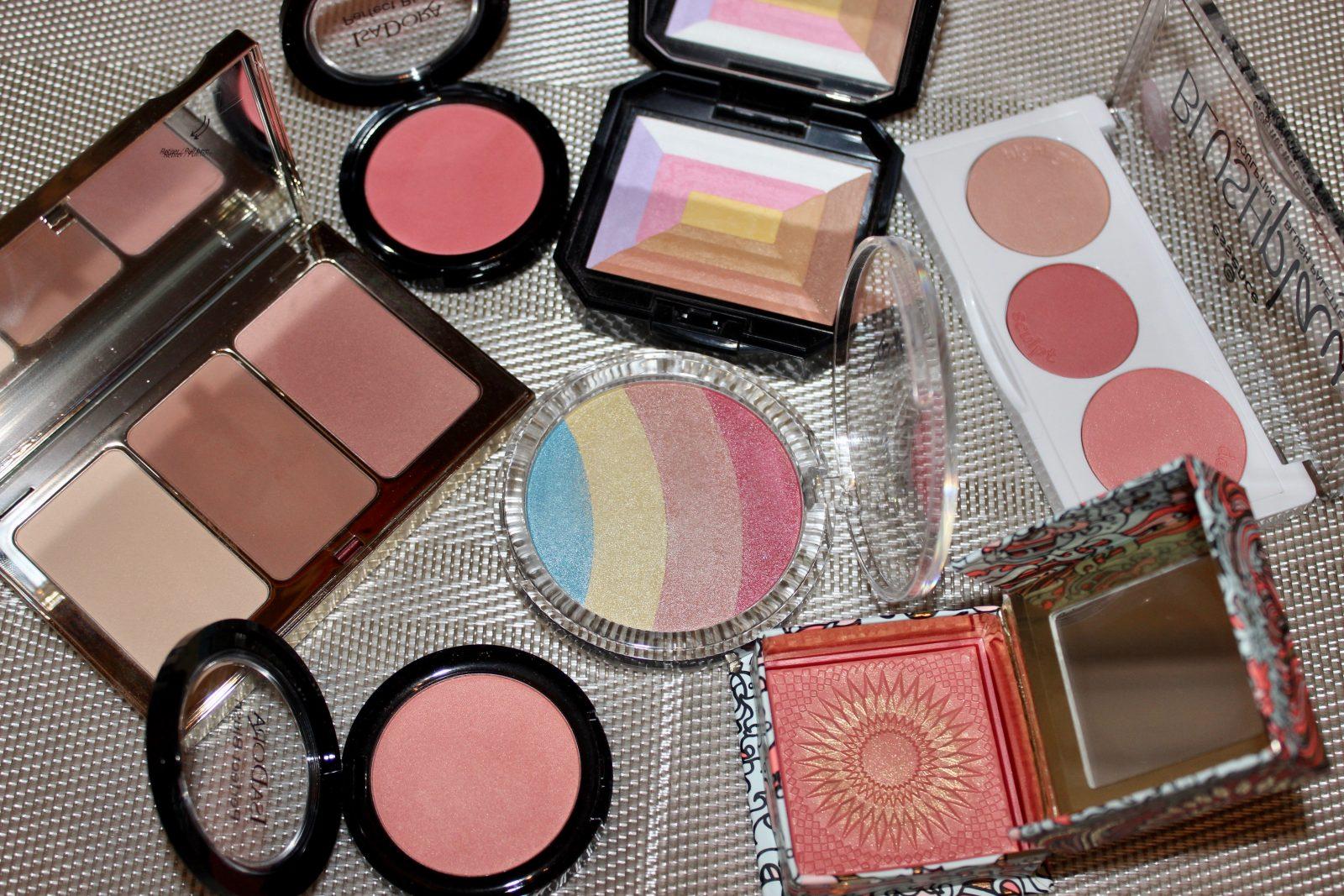spring blush colours