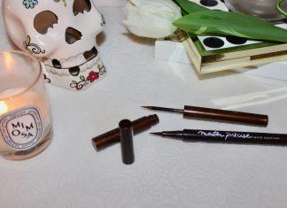 brown liquid liner