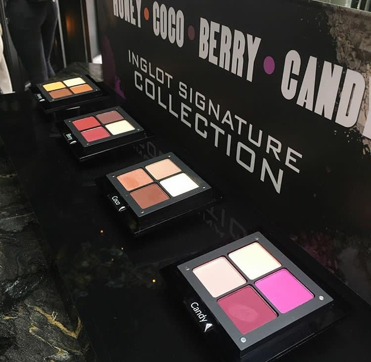 Inglot Signature Collection Palettes