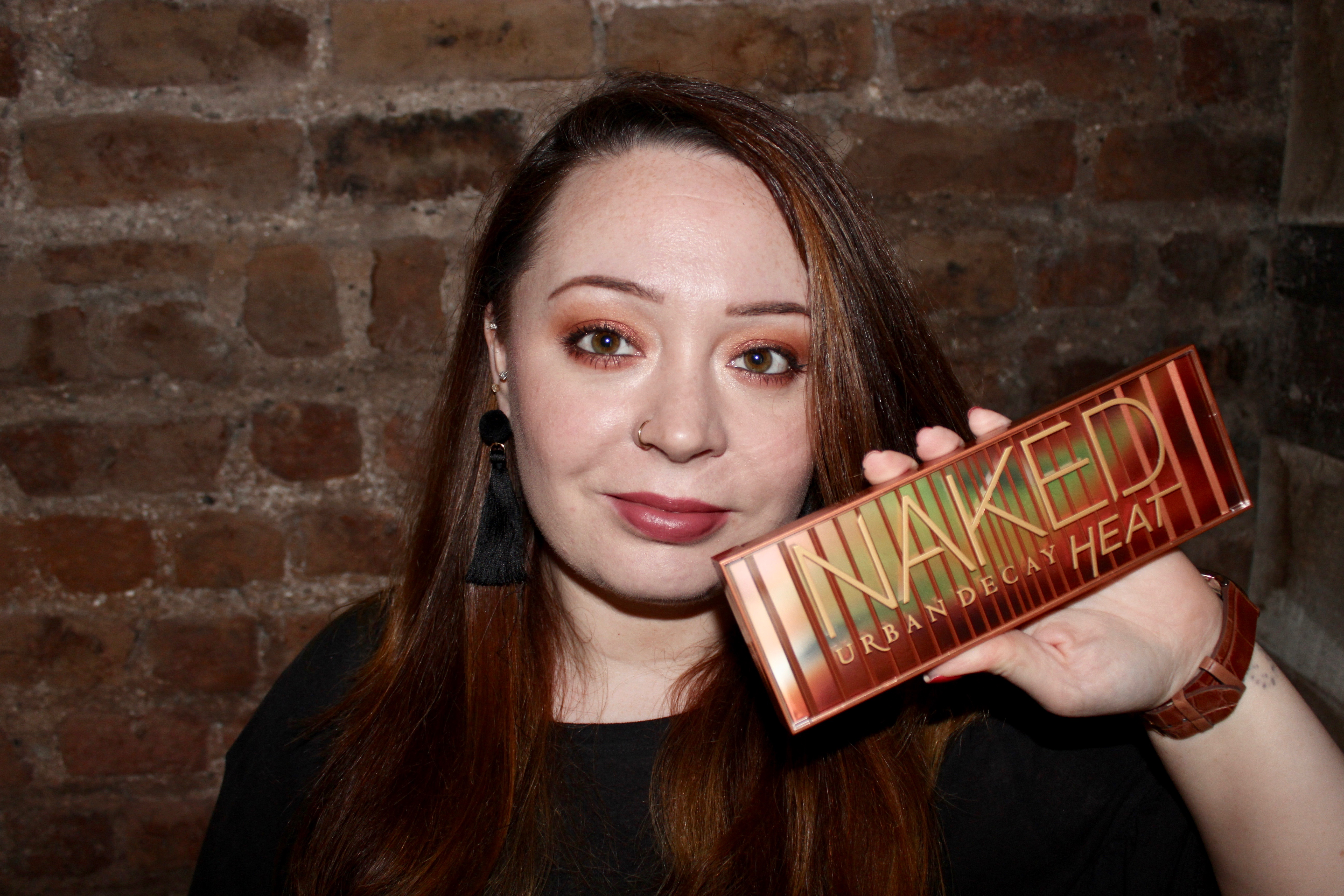 Urban Decay Naked Heat Makeup Look